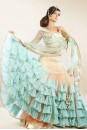 Payal Singhal Bridal Wear Collection : FRILL LEHENGA