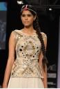 Payal Singhal Indian Wear Collection : MIRRORWORK BACKLESS CHOLI