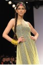 Payal Singhal Indian Wear Collection : LIME TULLE MUKAISH KURTA