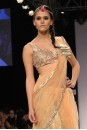 Payal Singhal Sarees Collection : BLUSH TULLE PEARL SAREE