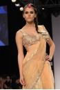 Payal Singhal Sarees Collection : BLUSH TULLE PEARL SAREE