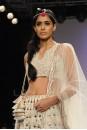Payal Singhal Bridal Wear Collection : ECRU KERI LONG-SHORT LEHENGA