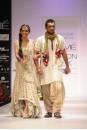 Payal Singhal Bridal Wear Collection : ECRU MIRROR LEHENGA
