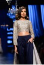 Payal Singhal Indian Wear Collection : SONIA CROPPED ANARKALI SET
