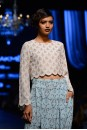 Payal Singhal Indian Wear Collection : DARA CROP TOP SET