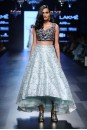 Payal Singhal Indian Wear Collection : ARVA RAISED HEM LEHENGA SET