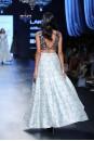 Payal Singhal Indian Wear Collection : ARVA RAISED HEM LEHENGA SET