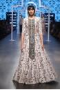 Payal Singhal Off The Runway Collection : RANYA OGEE PRINT EMBROIDERED CHOLI AND JANNAT PRINT LEHENGA