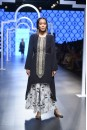 Payal Singhal Off The Runway Collection : SAKINA BLACK EMBROIDERED KURTA AND KHARGOSH PRINT PALAZZO PANTS