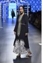 Payal Singhal Off The Runway Collection : SAKINA BLACK EMBROIDERED KURTA AND KHARGOSH PRINT PALAZZO PANTS