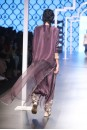 Payal Singhal Off The Runway Collection : SAMIYA EGGPLANT EMBROIDERED KURTA AND LOW CROTCH PANTS