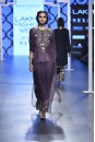 Payal Singhal Off The Runway Collection : SAMIYA EGGPLANT EMBROIDERED KURTA AND LOW CROTCH PANTS