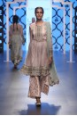 Payal Singhal Off The Runway Collection : PARIZA EMBROIDERED KURTA WITH BROCADE PALAZZO PANTS AND DUPATTA