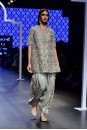Payal Singhal Off The Runway Collection : HEBA CUTWORK EMBROIDERED KURTA WITH BUSTIER AND SALWAR