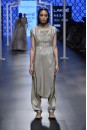 Payal Singhal Off The Runway Collection : RUKAIYA GREY LOW CROTCH EMBROIDERED JUMPSUIT