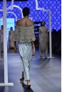 Payal Singhal Off The Runway Collection : MASUMA POWDER BLUE EMBROIDERED CAPE AND LOW CROTCH PANTS