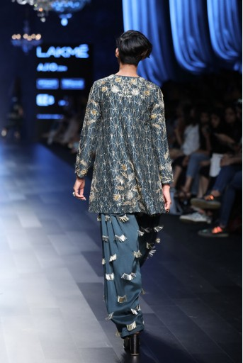 PS-FW457 Iman Emerald Green Silk Kurta with Salwar