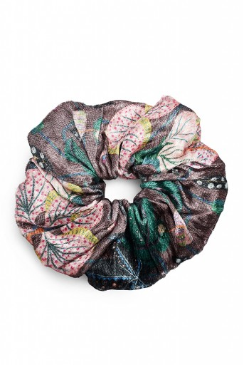PS-SCR038  Set of 3 Assorted Velvet Scrunchies in Signature Prints